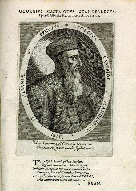 GEORGIVS CASTRIOTVS SCANDERBEGVS