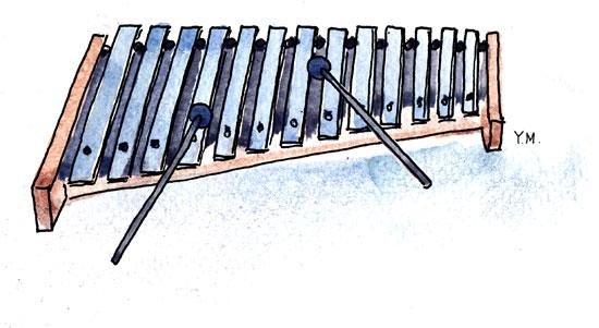 Xylophone by Yukié Matsushita
