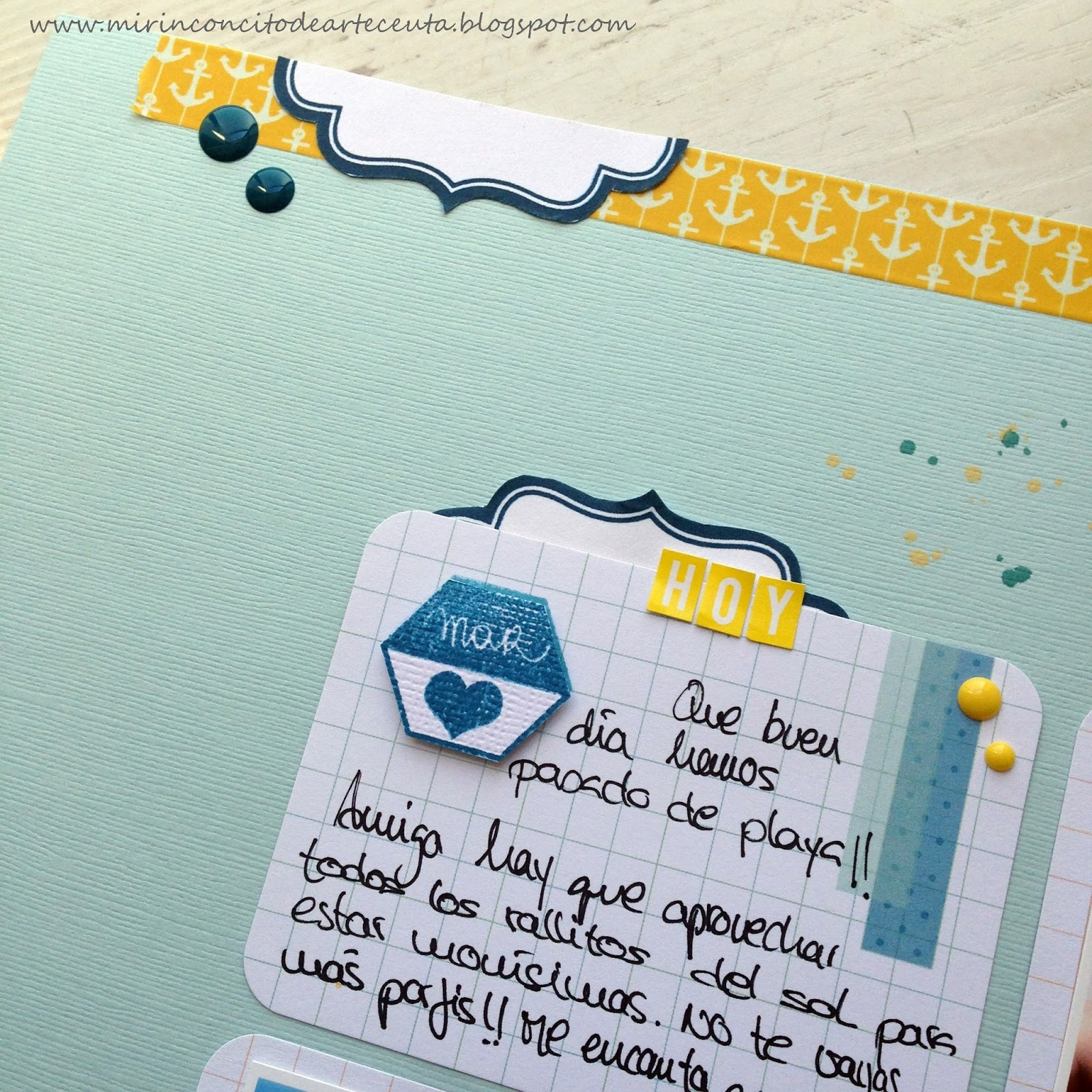 El blog de Macaliu: LAYOUT - HOY TOCA PLAYA