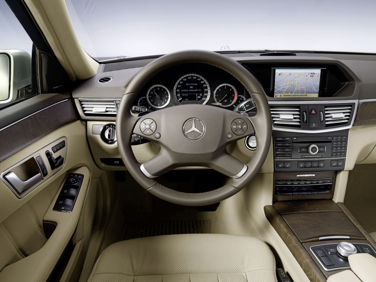 January 2012 for Inside mercedes benz