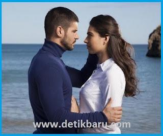 Tolgahan Sayisman dan Amine Gulse di drama Turki Antara Nur dan Dia
