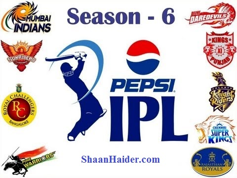 Watch IPL 6 2013 Live Stream Online Free