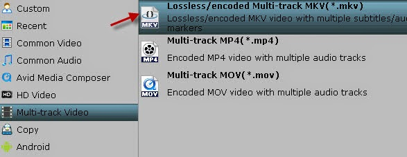 Lossless MKV format