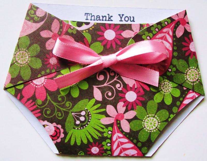 Baby Shower Favors Using Cricut ~ Days of cricut diaper shaped baby shower favors