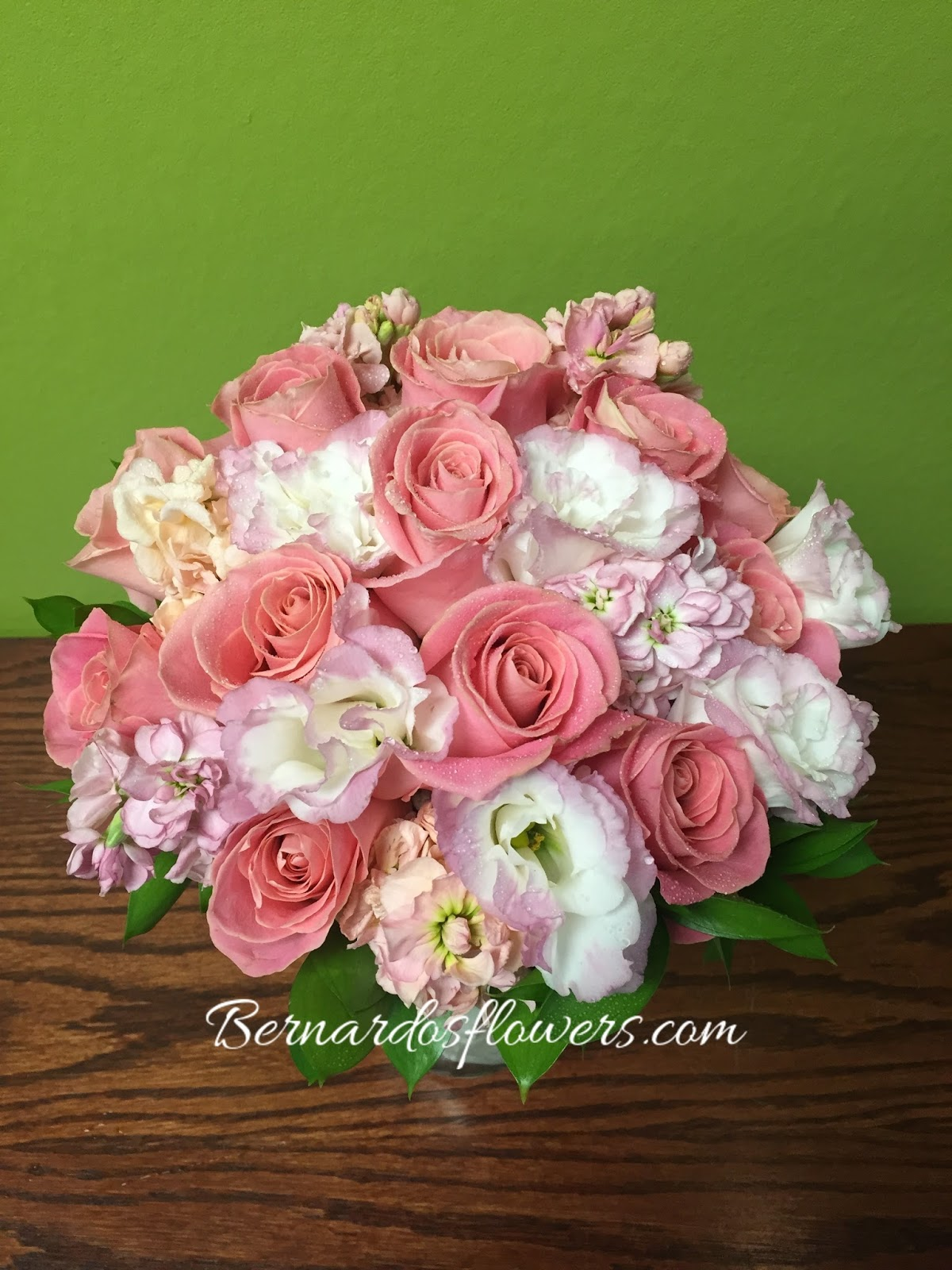 Bernardo\'s Flowers: Hand Held Wedding Bouquet