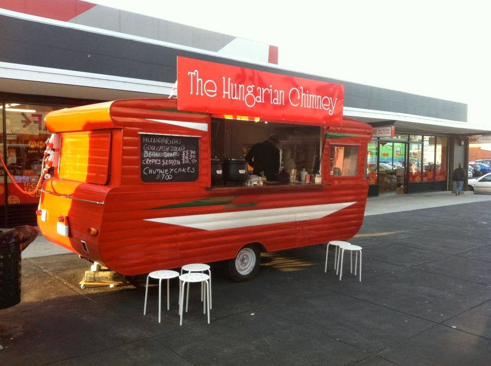 In Australia Our Customer Converted A Holiday Caravan Into Food Truck They Use Gas 8 Oven For Baking