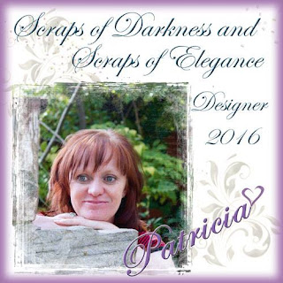 Design Team member Scraps of Elegance 2014-2016