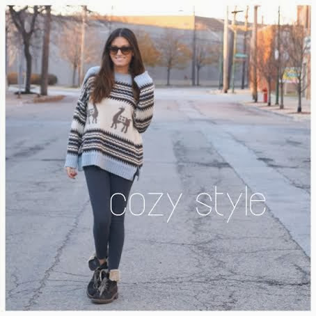 cozy weather style