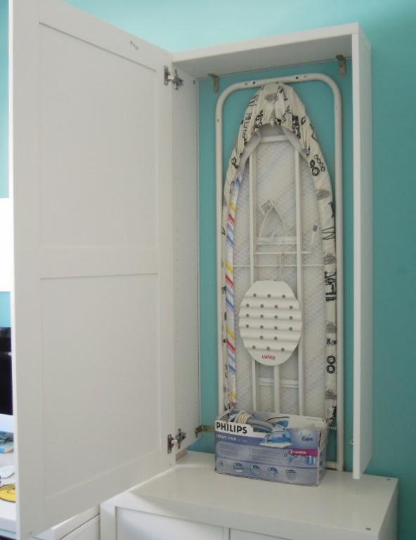 Un mueble para guardar la tabla de planchar con best mi llave allen - Mobile da stiro ikea ...