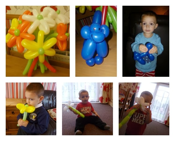 Yorkshire Blog, Mummy Blogging, Parent Blog, Flowers, Balloon Baboon, Bouquet, Baboon, Review,
