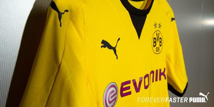 Oficial: Nueva camiseta Puma para la Europa League del Borussia Dortmund