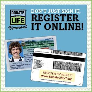 Donate Life Vermont