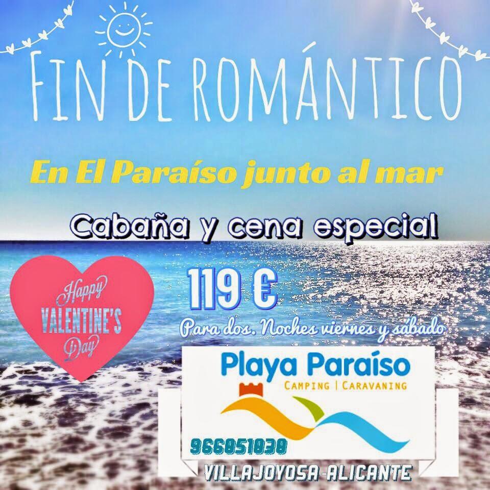 Blog del camping playa paraiso fin de semana rom ntico en la playa por san valent n - Un fin de semana romantico ...