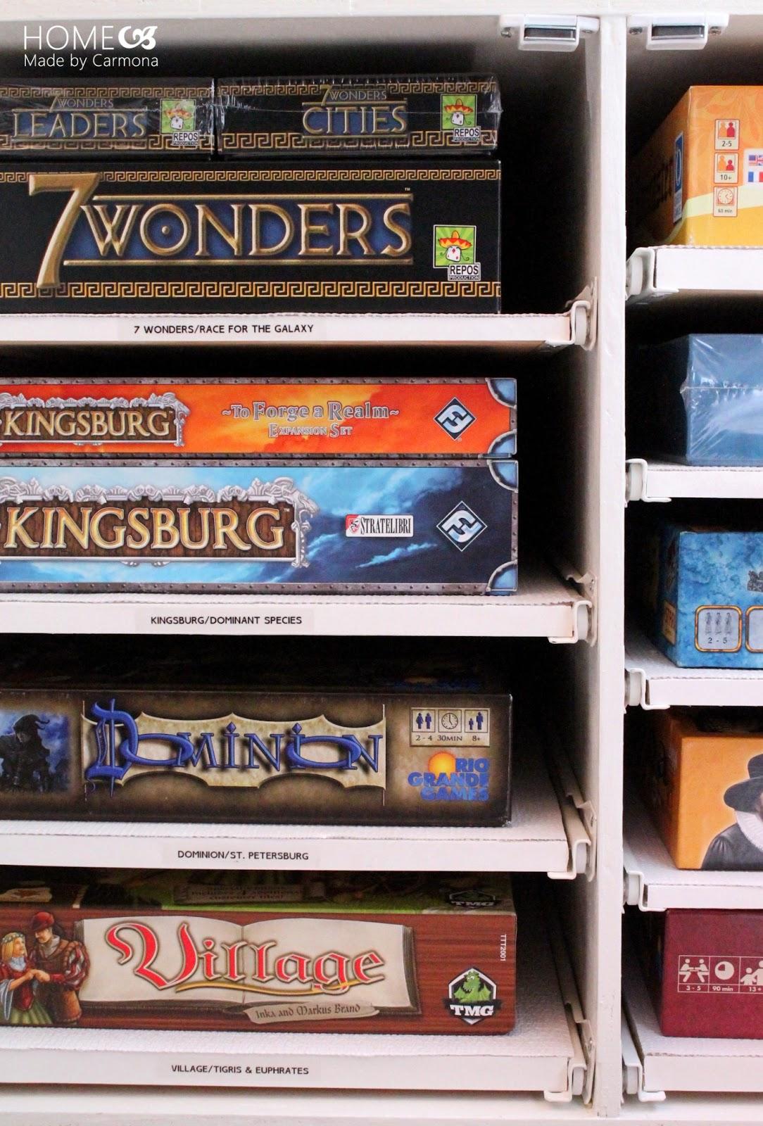 how to build a video game shelf