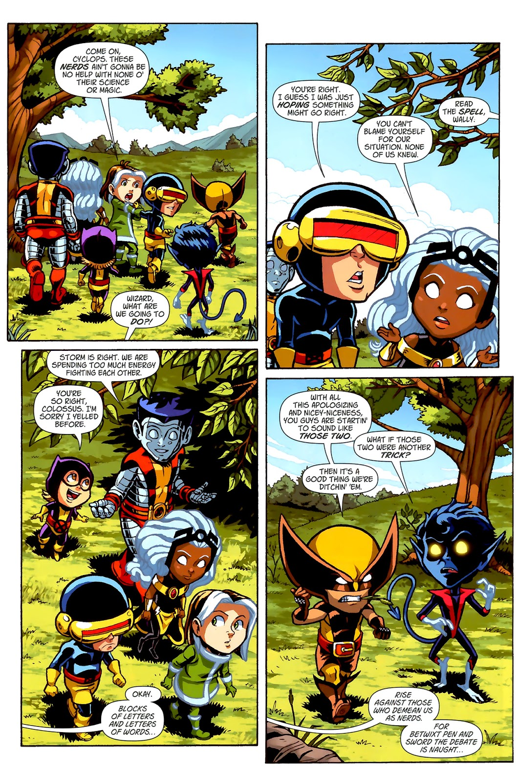 Read online X-Babies comic -  Issue #2 - 16