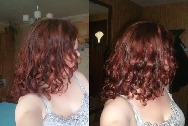 Włosy w czerwcu 2015r.