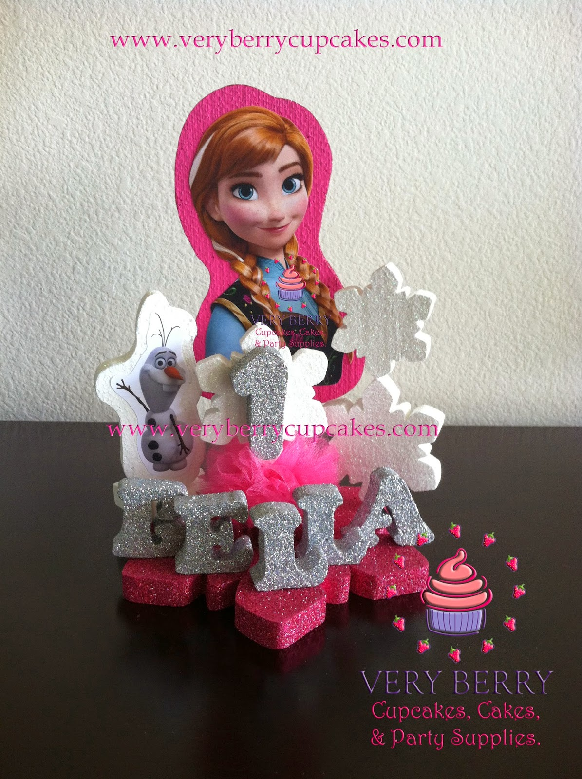 Veryberry Cupcakes Frozen Cake Toppers Frozen Princess