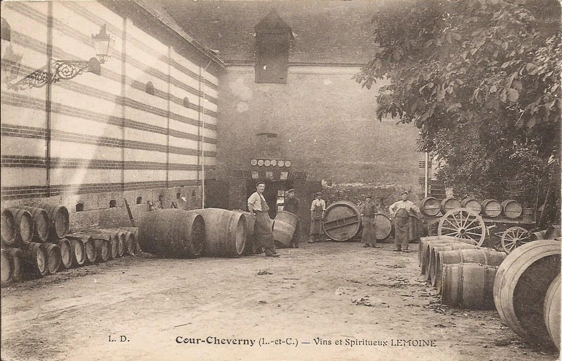 Vins et Spiritueux - Lemoine - Cour-Cheverny