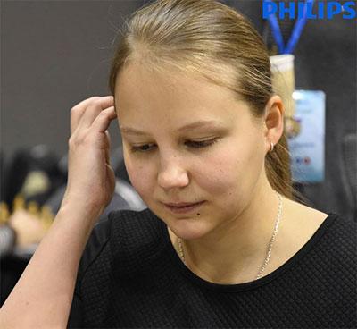 La joueuse russe Valentina Gunina - Photo © site officiel