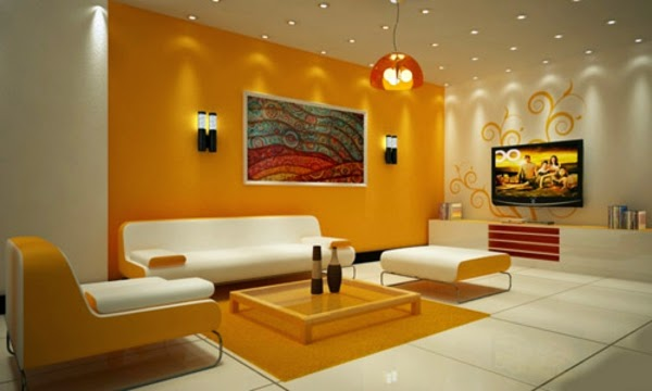 Modern Living Room Lighting Ideas For Walls And False Ceiling