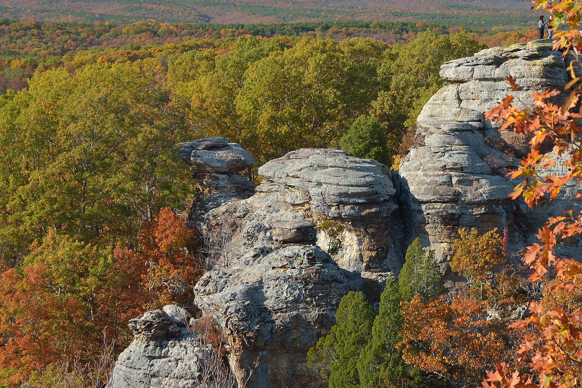 Garden Of The Gods   Southern Illinois   Shawnee National Forest