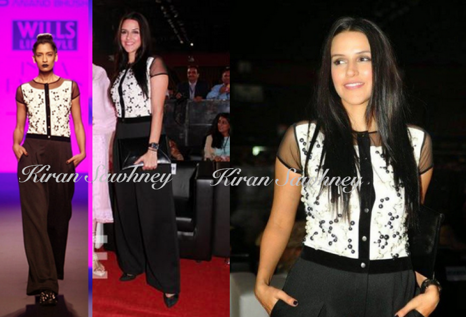 Neha Dhupia at Wow Discon 2015 in Mumbai