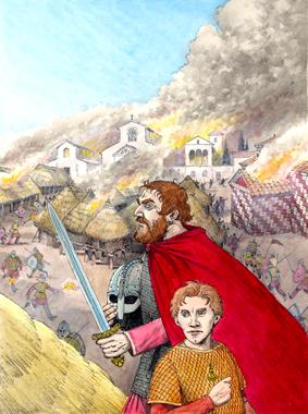 La Crónica de Leodegundo - el cómic de la Edad Media Gaspar Meana España Medieval