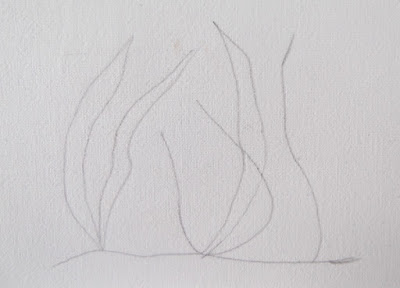 μοτίβο, γρασίδι, σχέδιο, φύλλα