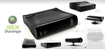 Novo Xbox terá vários funcionalidades, como Kinect integrado, drive Bluray e novo controle.