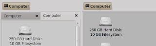 Extra Pan on Nautilus file manager