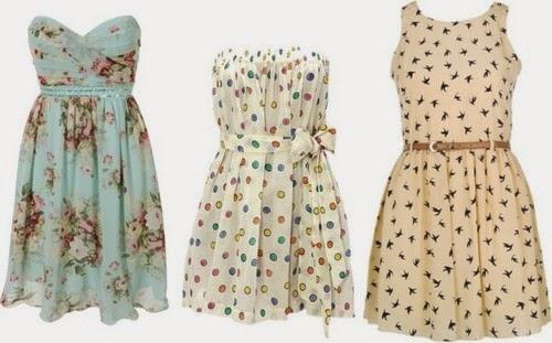 Vestidos simples para sair