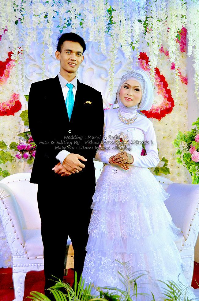 Wedding : Murni & Sodin || Foto & Editing By : Klikmg3 ( Vishnu Darmawan ) Fotografer Purwokerto
