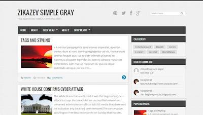 Template Responsive, template blogger