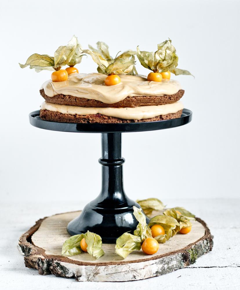 tort kajmakowo-cynamonowy
