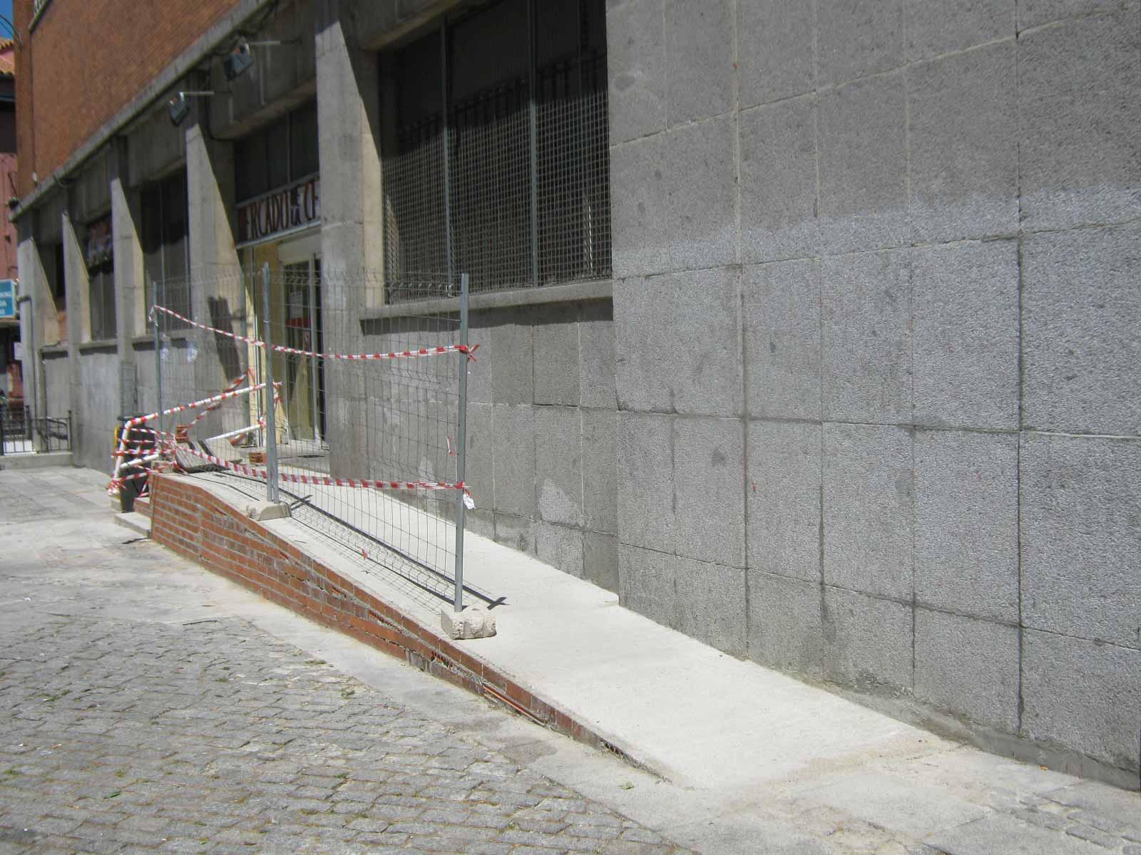 3encebada 03 resumen primera visita accesibilidad mercado - Soluciones escaleras poco espacio ...