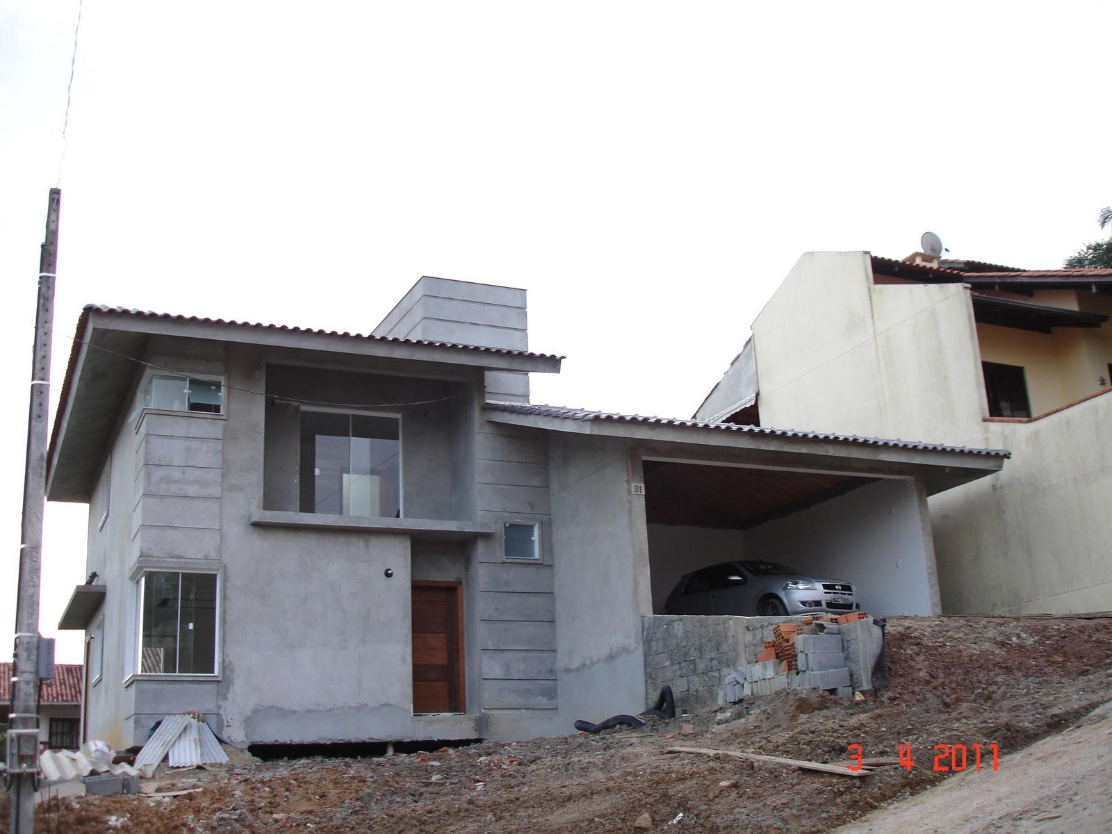 Nossa Casa no Site Construção da fundação ao acabamento: Fotos  #5E4C46 1600 1200