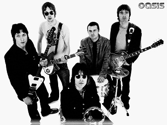 English Rock Band Oasis Poster