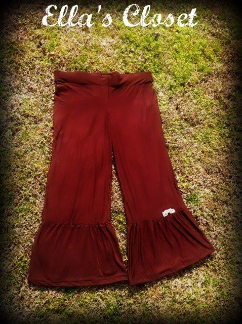 Girls Women Ruffle Bottom Pants Ella S Closet