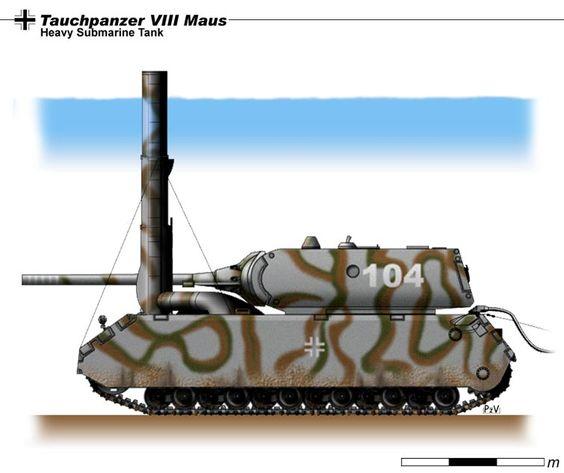 Maus Tauchpanzer