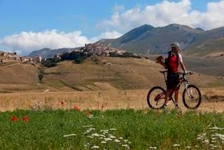 umbria in bike