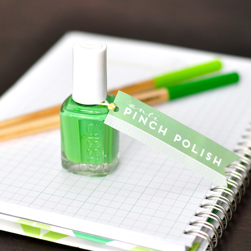 Green Nail Polish Free Download for St. Patrick's Day