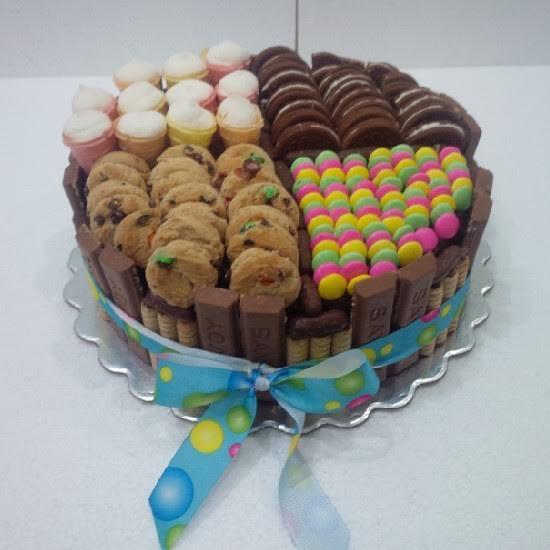 101 fiestas decoraci n de tortas s per f ciles con dulces for Tortas decoradas faciles