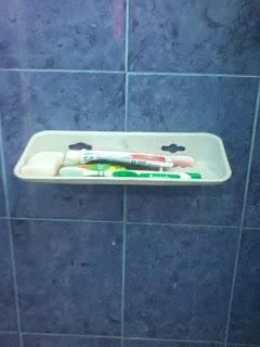 aksesori kamar mandi wadah sabun
