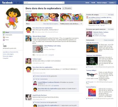 Dora Facebook