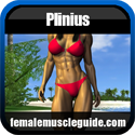 Plinius Female Muscle Artwork - Femalemuscleguide.com