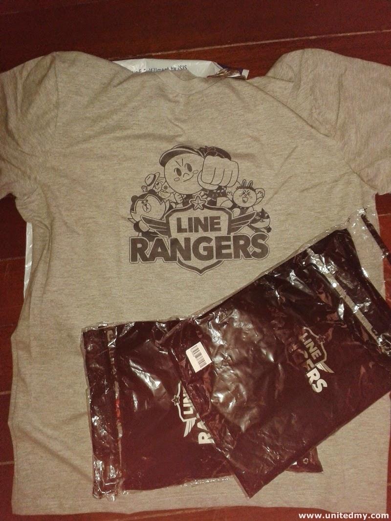 LINE Malaysia T-Shirt