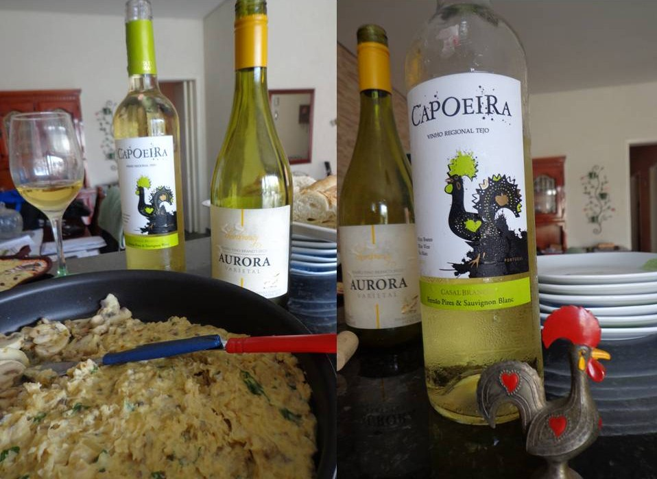 Patê de Cogumelos para harmonizar com vinhos brancos