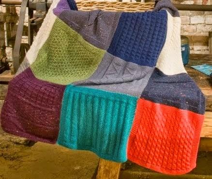Zeeuwse mee brei deken