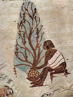 Child Working in Garden - Tomb of Menna