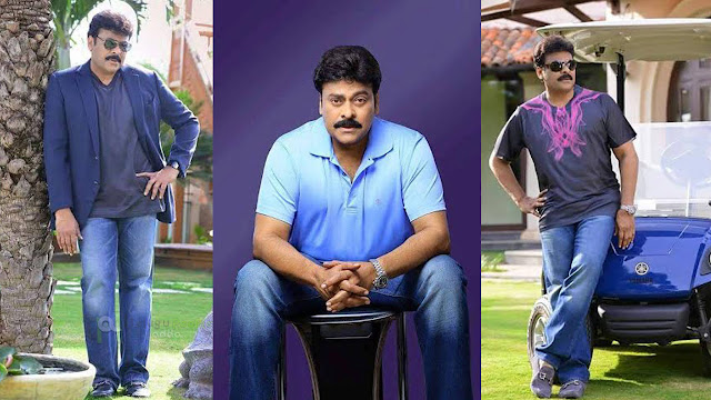 Chiranjeevi Latest Photoshoot Stills